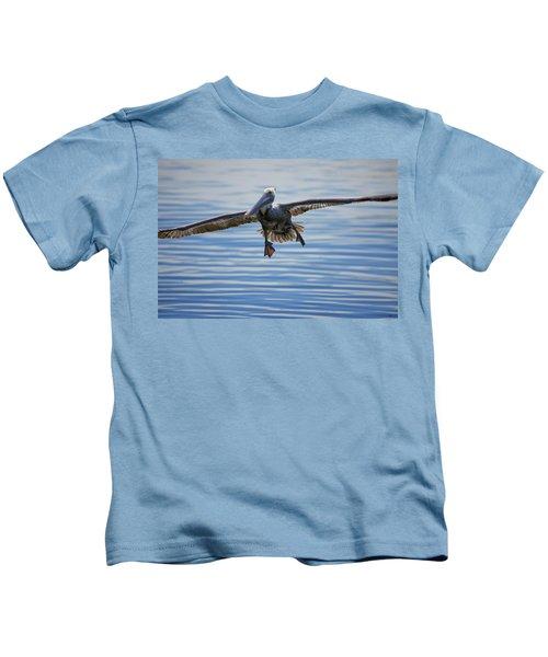 Pelican On Approach Kids T-Shirt