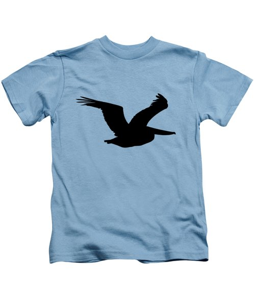 Pelican Profile .png Kids T-Shirt by Al Powell Photography USA