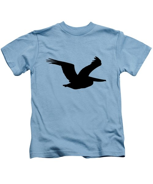 Pelican Profile .png Kids T-Shirt