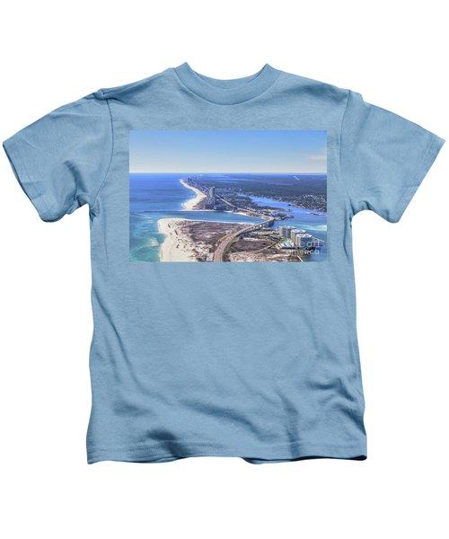 Perdido Pass Bridge 4319 Kids T-Shirt