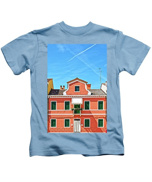 Picturesque House In Burano Kids T-Shirt