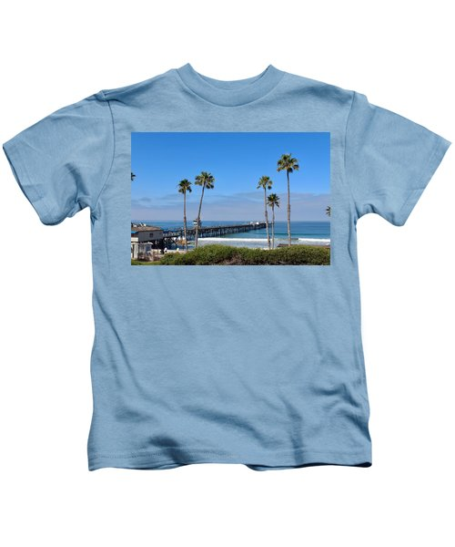 Pier And Palms Kids T-Shirt