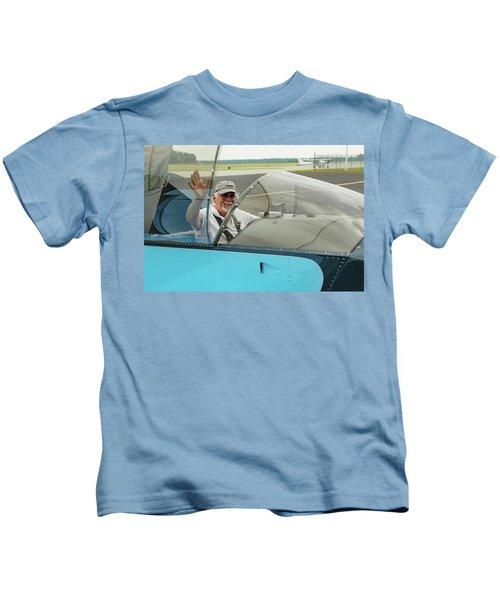 Pilot Vic Vicari Kids T-Shirt