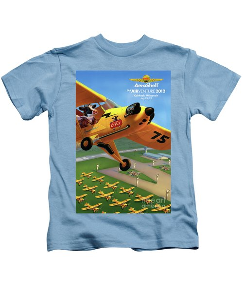 Piper Aircraft Poster  Kids T-Shirt