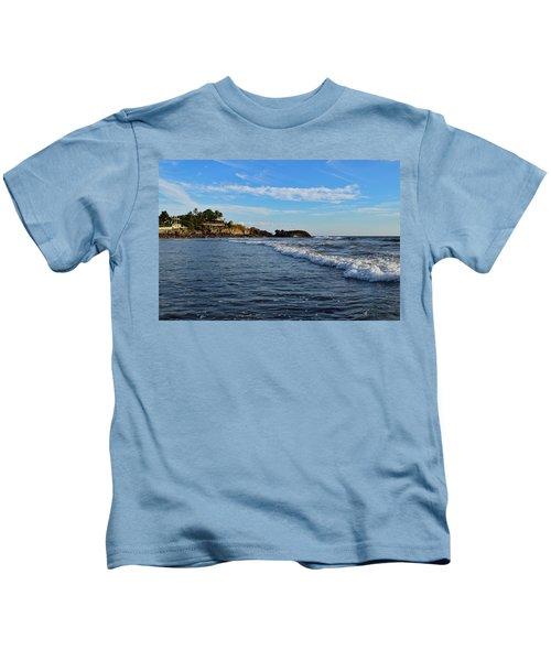 Poneloya Beach Before Sunset Kids T-Shirt