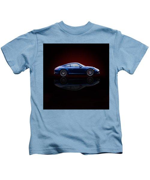 Porsche 911 Carrera - Blue Kids T-Shirt