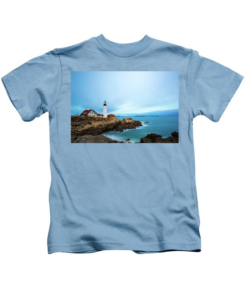 Portland Head Light 1 Kids T-Shirt