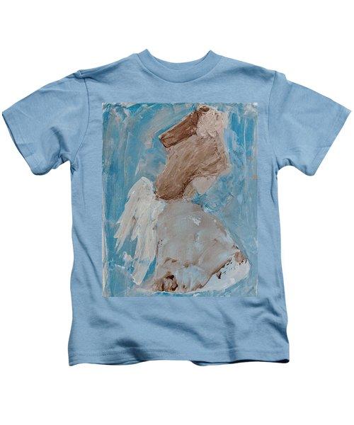 Portrait Of An Angel Kids T-Shirt