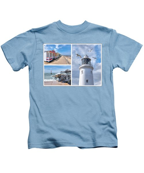 Postcard From Southwold Kids T-Shirt