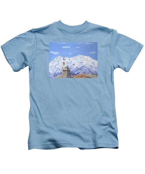 Prayer Flag Kids T-Shirt