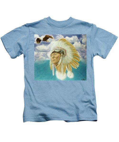 Proud As An Eagle Kids T-Shirt