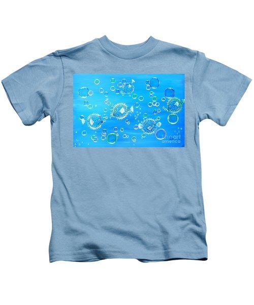 Pufferfish Playtime Kids T-Shirt