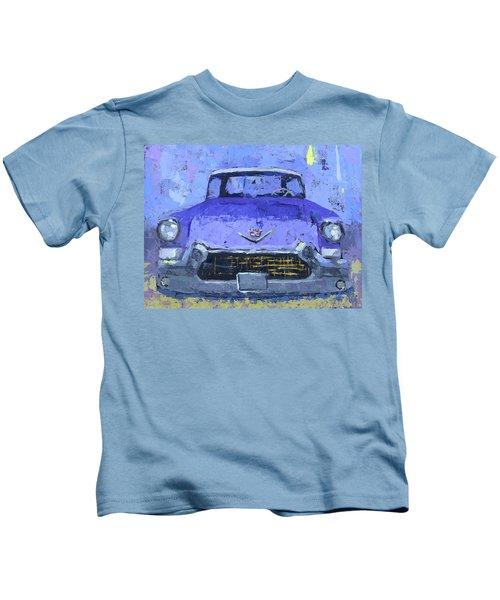 Purple Cadillac Kids T-Shirt