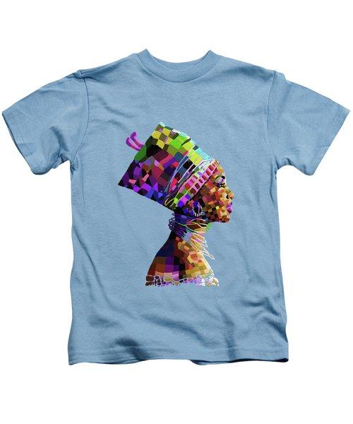 Queen Nefertiti Kids T-Shirt