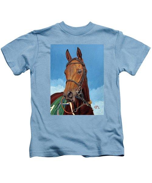 Radamez - Arabian Race Horse Kids T-Shirt