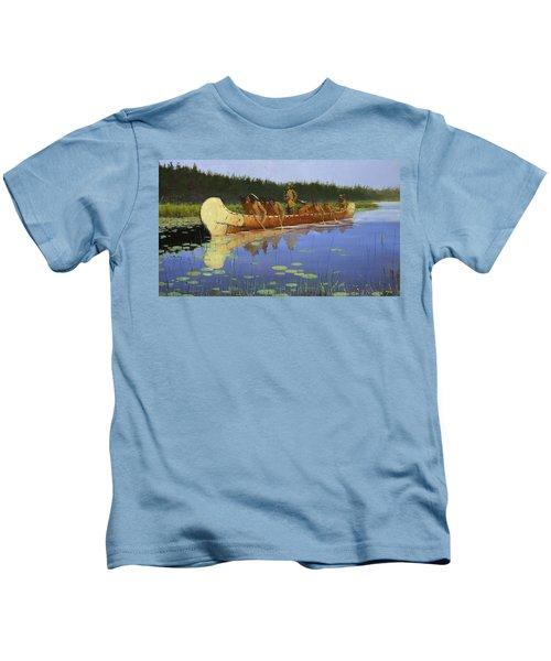 Radisson And Groseilliers Kids T-Shirt