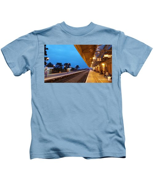 Railway Vanishing Point Kids T-Shirt