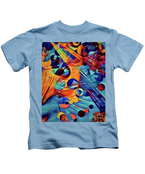 Rain Drops And Sun Rays Kids T-Shirt