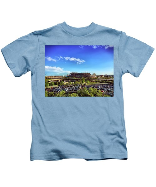 Ravens Stadium Kids T-Shirt