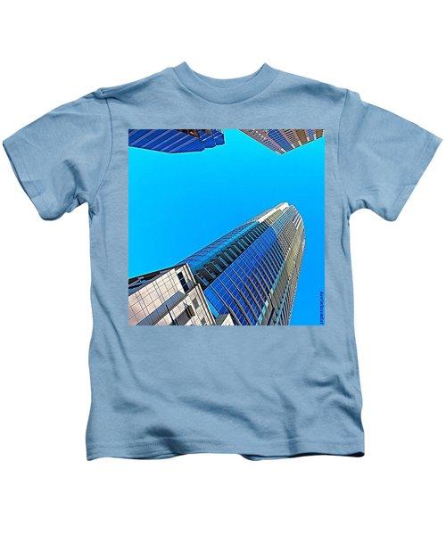 Reach For The #sky. #keepaustinweird Kids T-Shirt