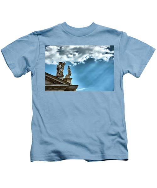 Reaching The Sky Kids T-Shirt