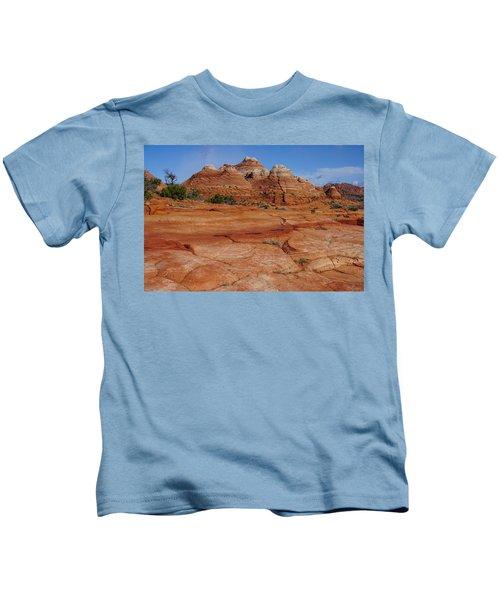 Red Rock Buttes Kids T-Shirt
