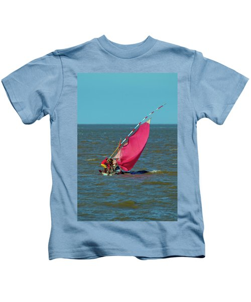 Red Sail Near Maputo Kids T-Shirt