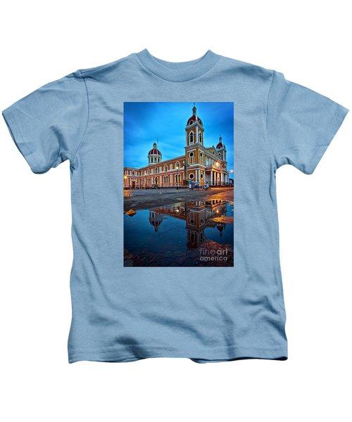 Reflections Of Granada, Nicaragua  Kids T-Shirt
