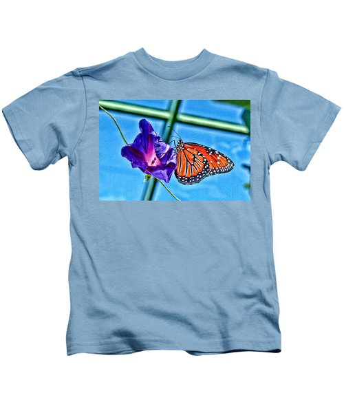 Reigning Monarch Kids T-Shirt