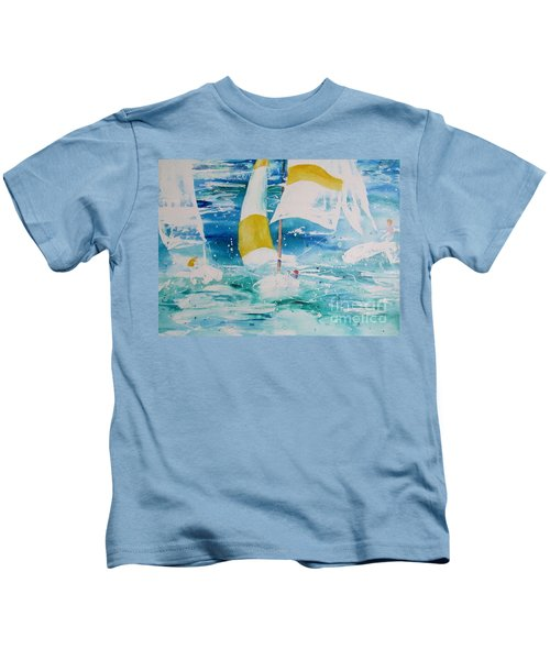 Riding The Wind Kids T-Shirt