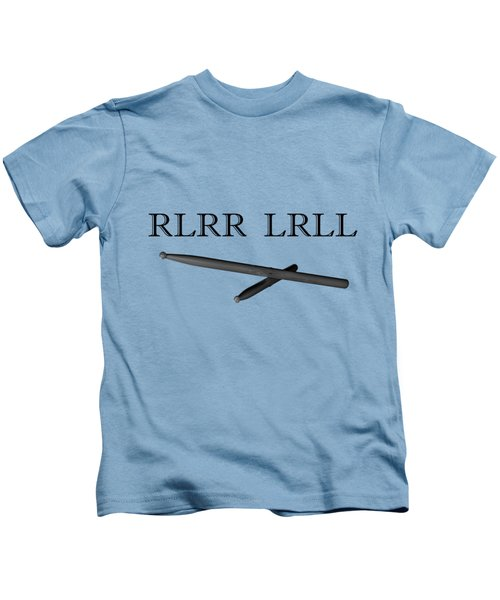Rlrr Lrll Kids T-Shirt by M K  Miller