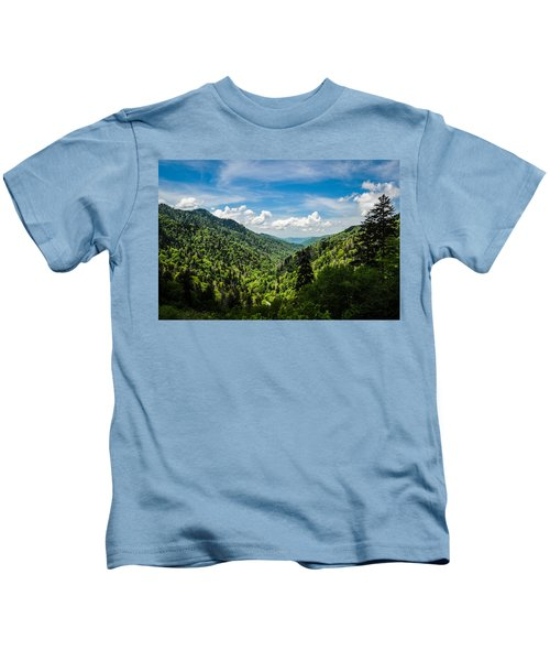 Rolling Mountains Kids T-Shirt
