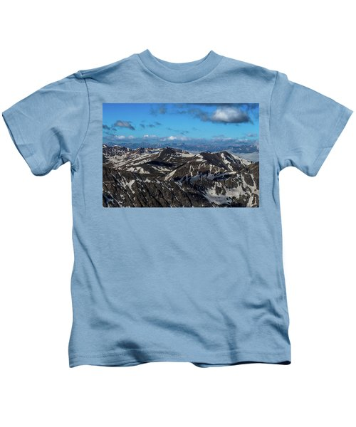Roof Of The Rockies Kids T-Shirt