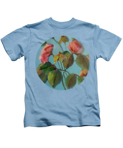 Roses And Wildflowers Kids T-Shirt
