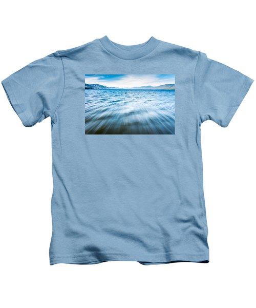 Rushing Away Kids T-Shirt