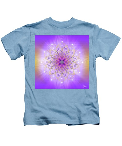 Sacred Geometry 721 Kids T-Shirt