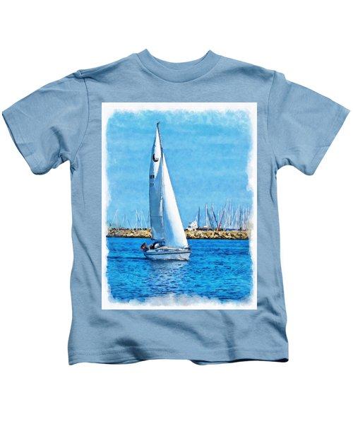 Sailling Ship Kids T-Shirt