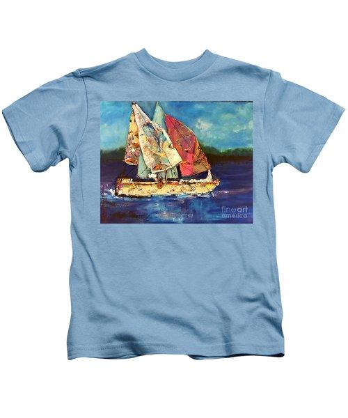 Sails Away Kids T-Shirt