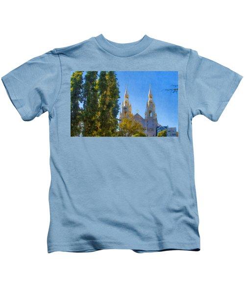 Saints Peter And Paul Church Kids T-Shirt
