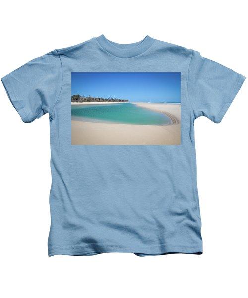 Sand Island Paradise Kids T-Shirt