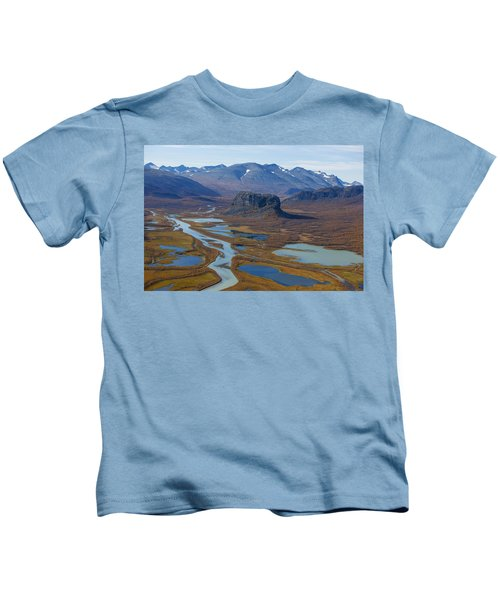 Sarek Nationalpark Kids T-Shirt