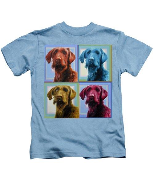 Savannah The Labradoodle Kids T-Shirt