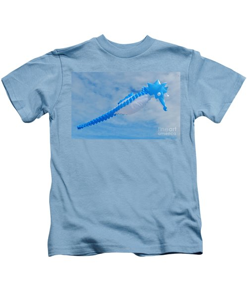 Seahorse In The Sky Kite 2 Kids T-Shirt