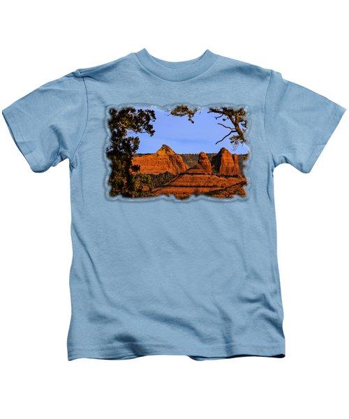 Sedona Red Rocks Kids T-Shirt