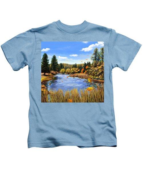 Seeley Montana Fall Kids T-Shirt
