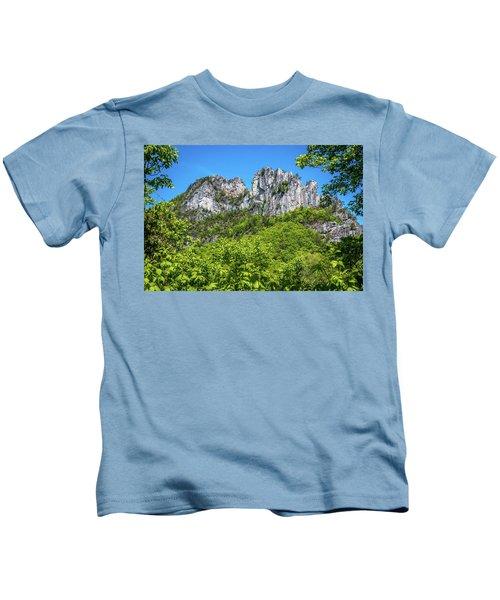 Seneca Rocks Kids T-Shirt