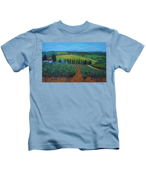 Sentrees Of The Grapes Kids T-Shirt