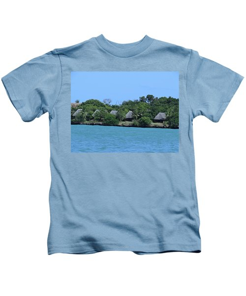 Serenity - Chale Island Kenya Africa Kids T-Shirt
