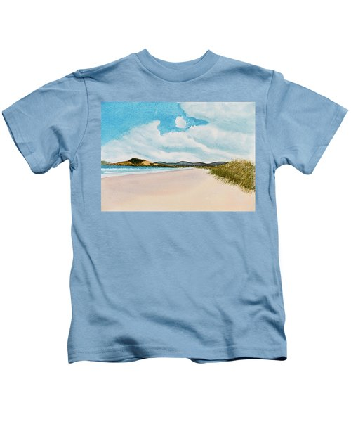 Seven Mile Beach On A Calm, Sunny Day Kids T-Shirt