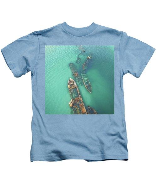 Shipwrecks Kids T-Shirt